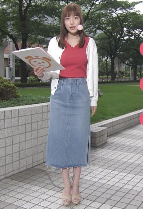阿部華也子 ニット乳キャプ・エロ画像8