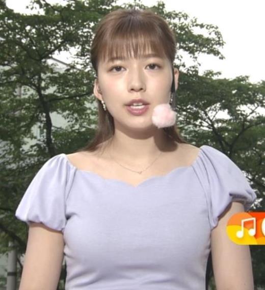 阿部華也子 エロい胸元キャプ画像(エロ・アイコラ画像)