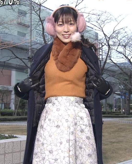 阿部華也子 ニット乳キャプ・エロ画像4