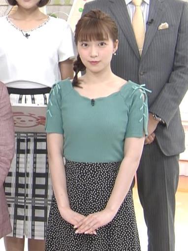 阿部華也子 ニットおっぱいキャプ・エロ画像2