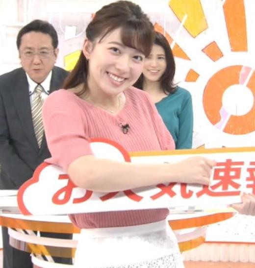 阿部華也子 ニット姿キャプ画像(エロ・アイコラ画像)