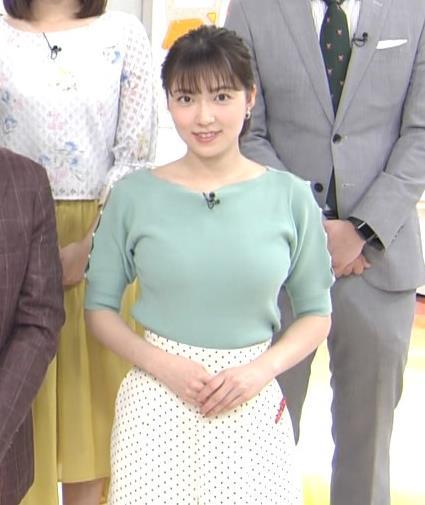 阿部華也子 ニットデカ乳キャプ・エロ画像4
