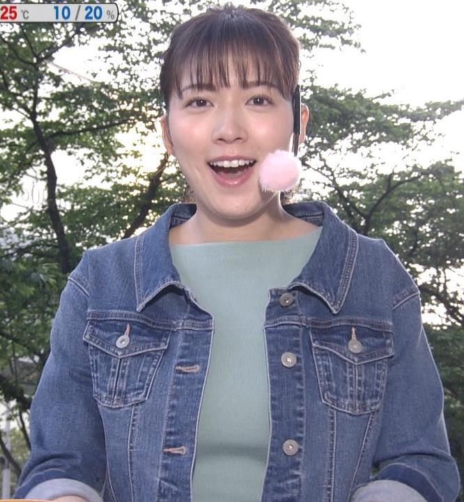 阿部華也子 ニットデカ乳キャプ・エロ画像5