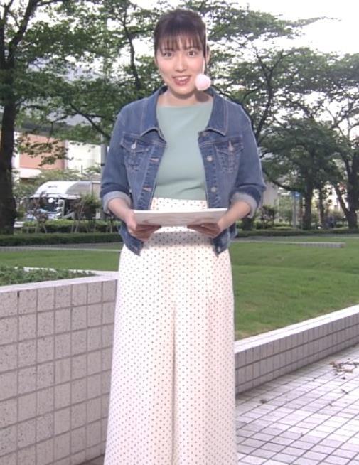 阿部華也子 ニットデカ乳キャプ・エロ画像6