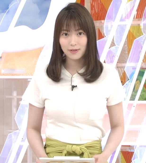 阿部華也子 Tシャツおっぱいキャプ・エロ画像