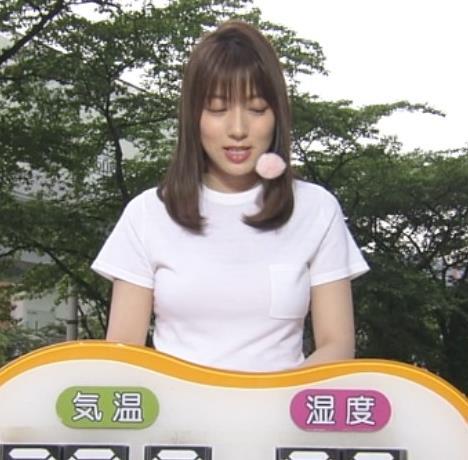 阿部華也子 Tシャツおっぱいキャプ・エロ画像3