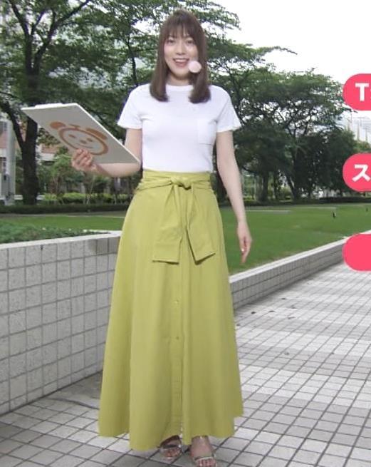 阿部華也子 Tシャツおっぱいキャプ・エロ画像5