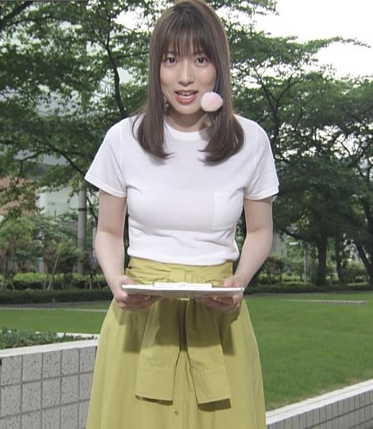阿部華也子 Tシャツおっぱいキャプ・エロ画像6