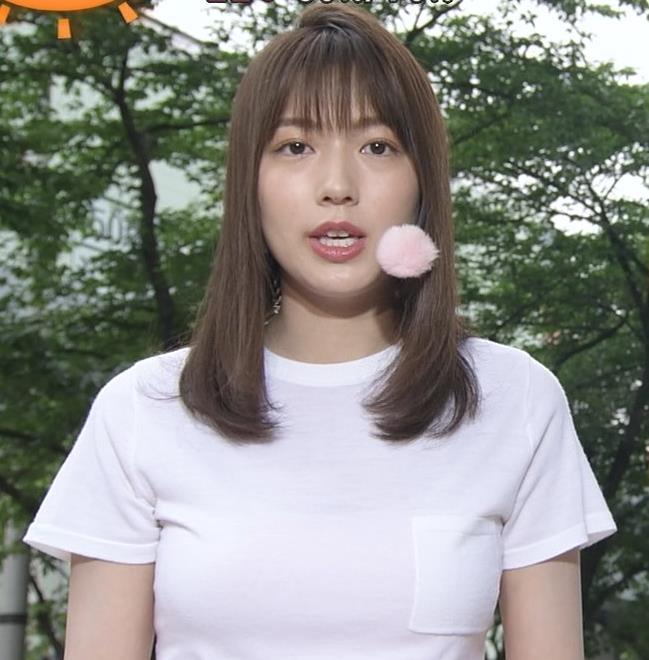 阿部華也子 Tシャツおっぱいキャプ・エロ画像7