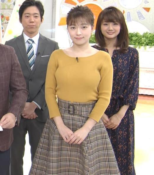 阿部華也子 デカいニット乳キャプ・エロ画像5