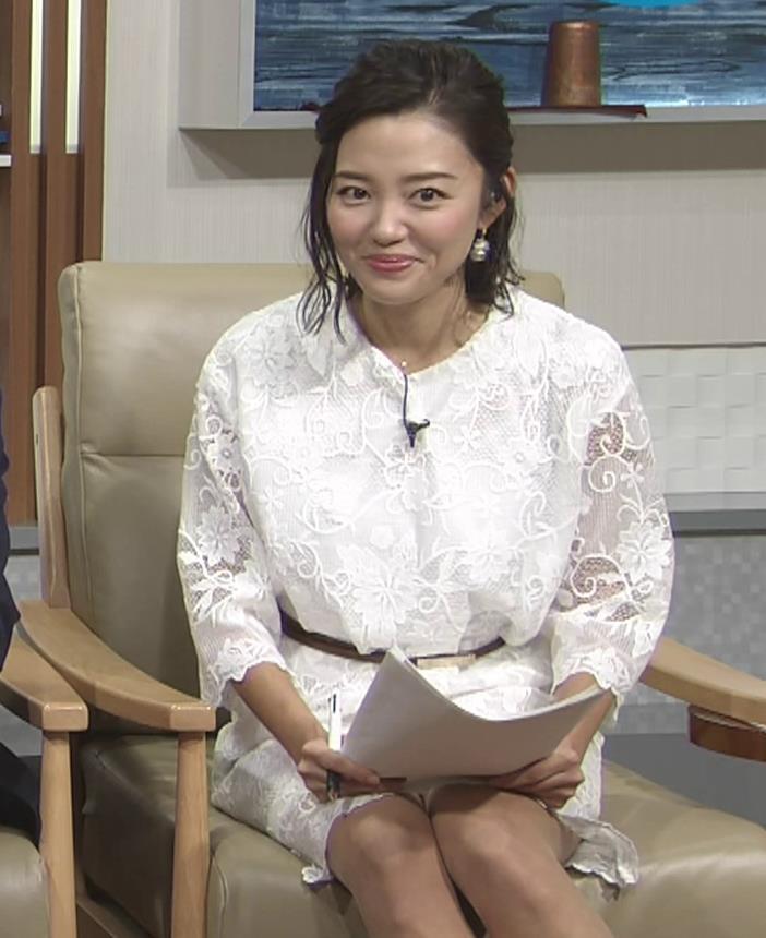 阿部優貴子 透け透けミニスカートキャプ・エロ画像3