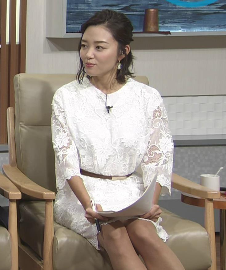 阿部優貴子 透け透けミニスカートキャプ・エロ画像5