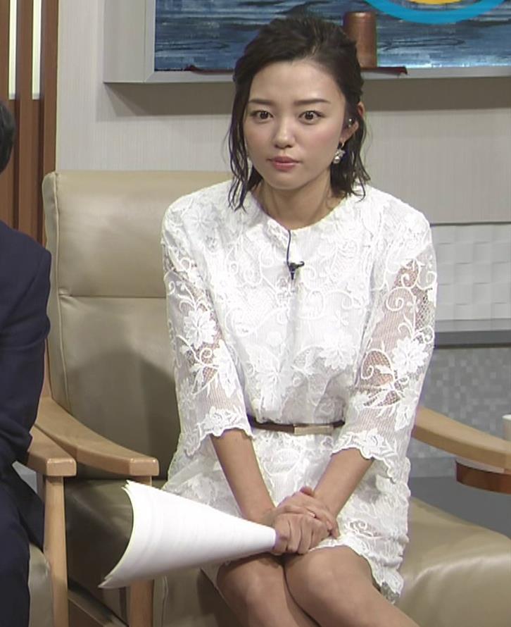 阿部優貴子 透け透けミニスカートキャプ・エロ画像6