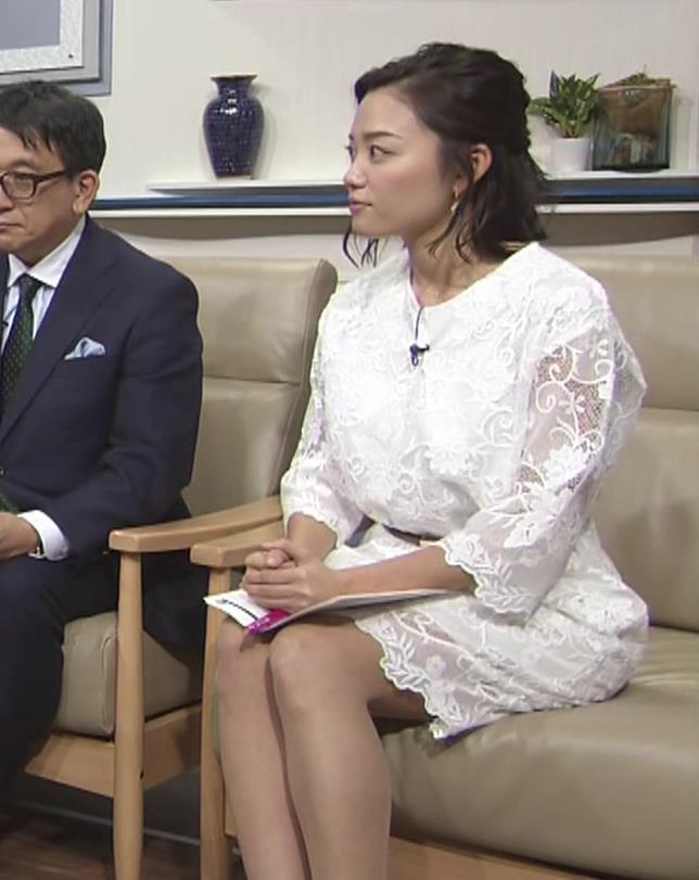 阿部優貴子 透け透けミニスカートキャプ・エロ画像9