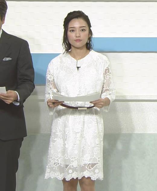 阿部優貴子 透け透けミニスカートキャプ画像(エロ・アイコラ画像)