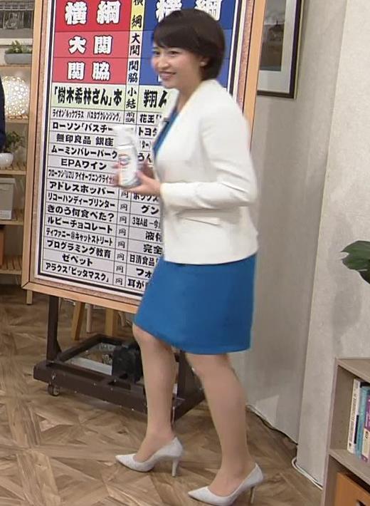 相内優香アナ ムチムチ太ももがエロい画像キャプ・エロ画像2