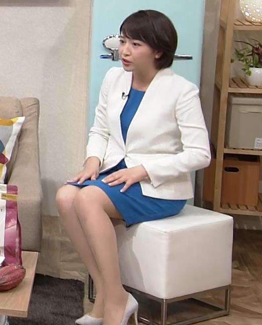 相内優香アナ ムチムチ太ももがエロい画像キャプ・エロ画像3