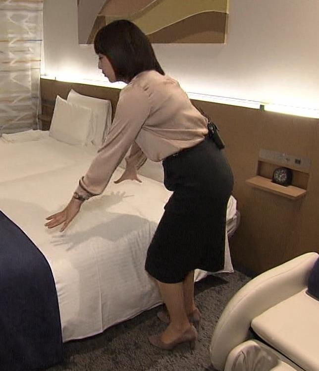 相内優香アナ スカートのスリットが開いて▼ゾーンちらキャプ・エロ画像5