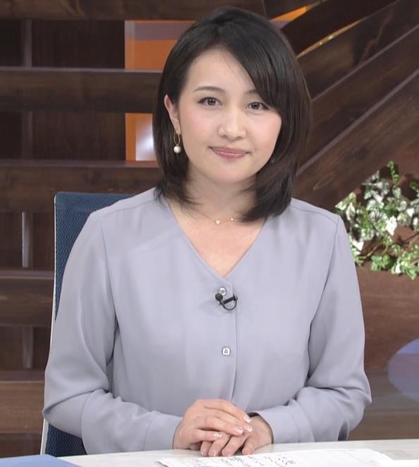 相内優香アナ 巨乳がエロいシャツキャプ・エロ画像2