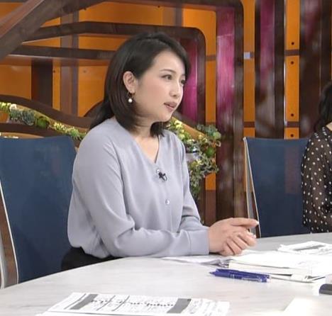 相内優香アナ 巨乳がエロいシャツキャプ・エロ画像5