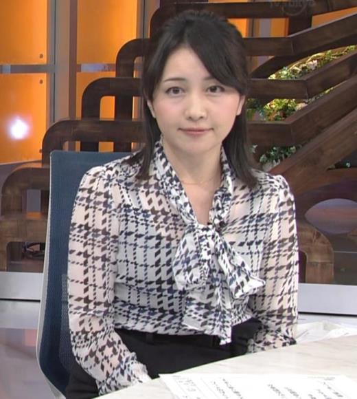 相内優香アナ エロく透けたシャツキャプ画像(エロ・アイコラ画像)