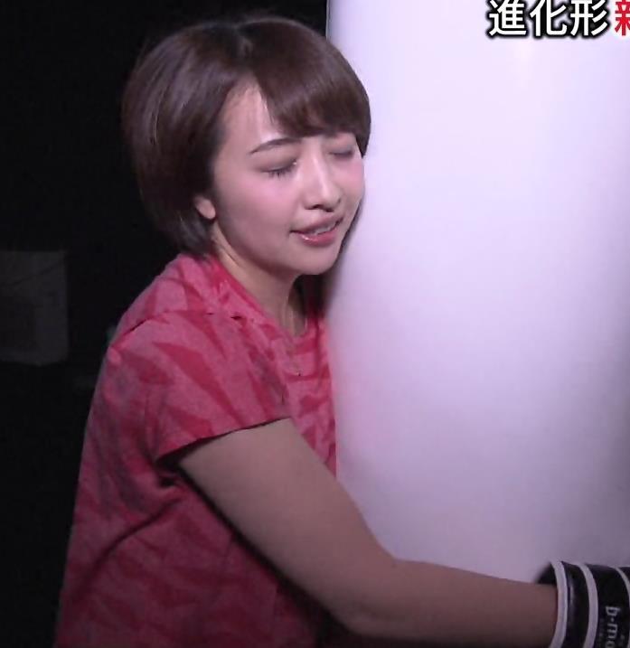 相内優香アナ 巨乳×Tシャツキャプ・エロ画像7