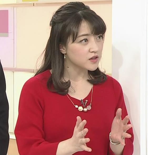赤木野々花アナ ニットおっぱい!キャプ・エロ画像6
