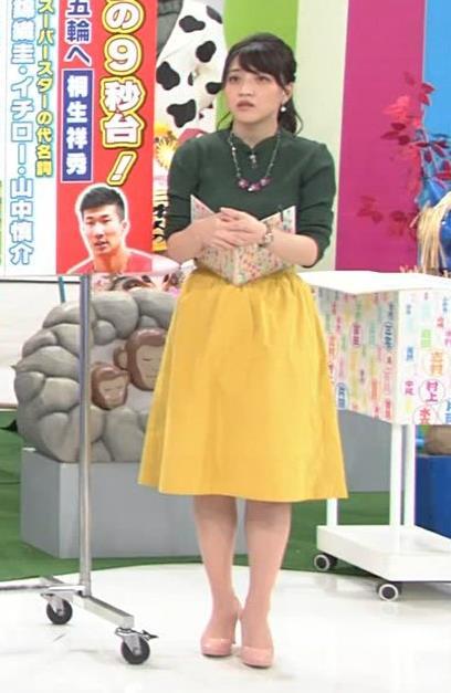 アナ ニット横乳がすごい!キャプ・エロ画像6