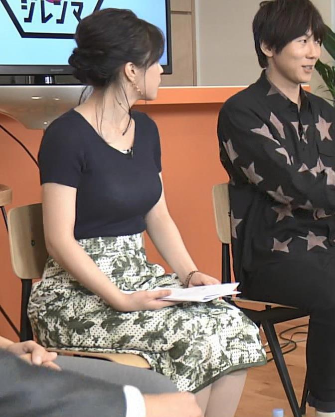 赤木野々花アナ このTシャツおっぱいエロ過ぎだろ!キャプ・エロ画像12