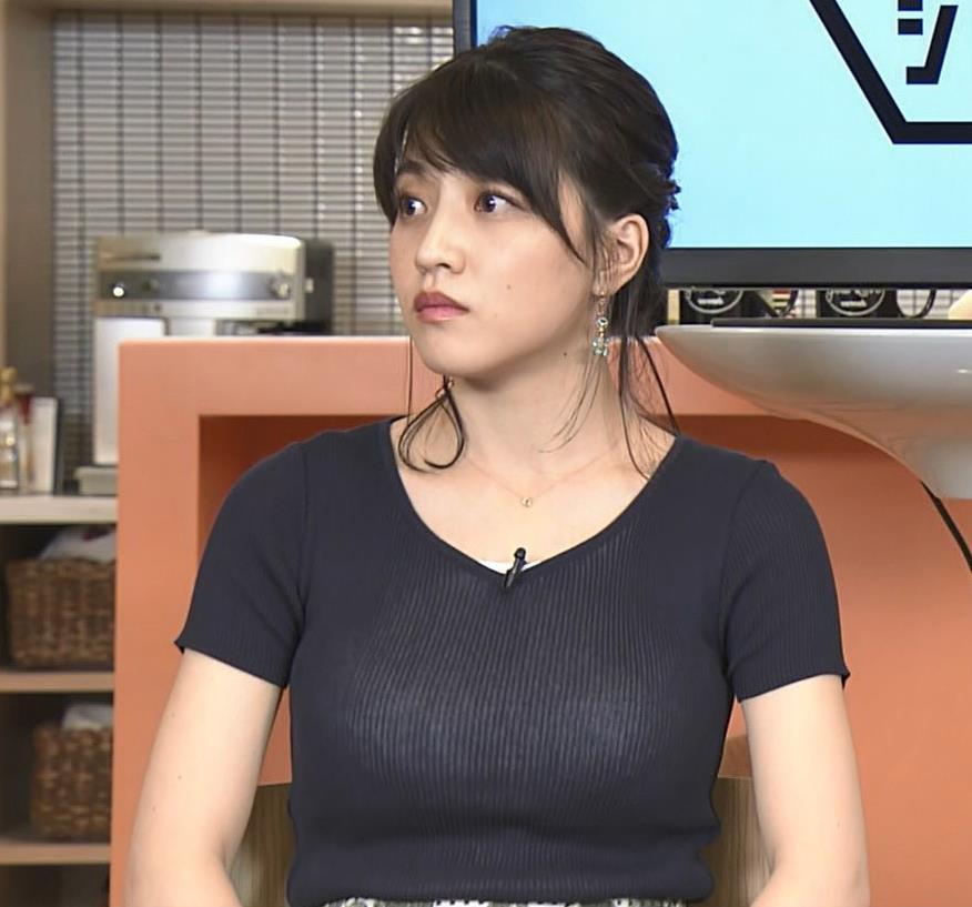 赤木野々花アナ このTシャツおっぱいエロ過ぎだろ!キャプ・エロ画像8
