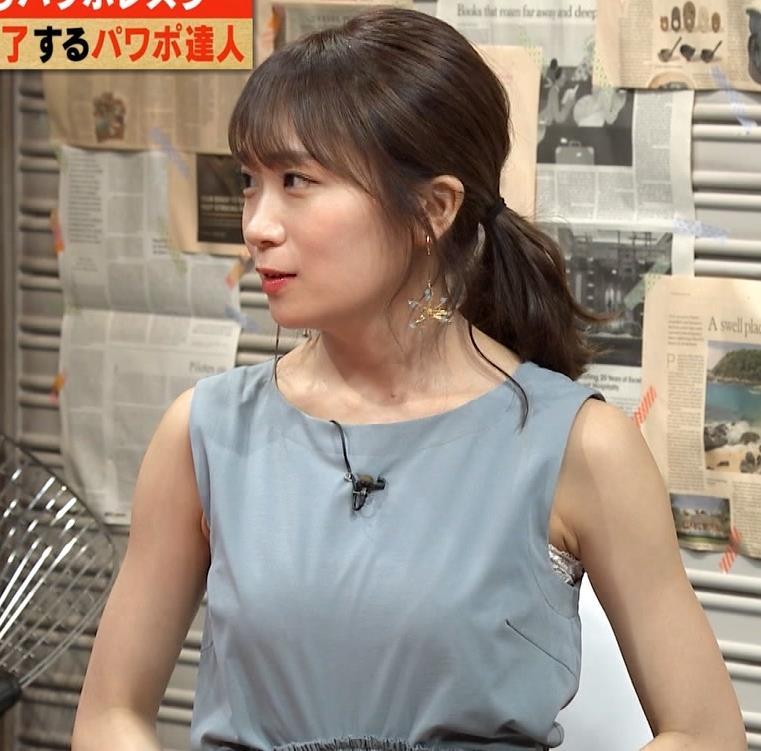 秋元真夏 おっぱいがエロいノースリーブキャプ・エロ画像5