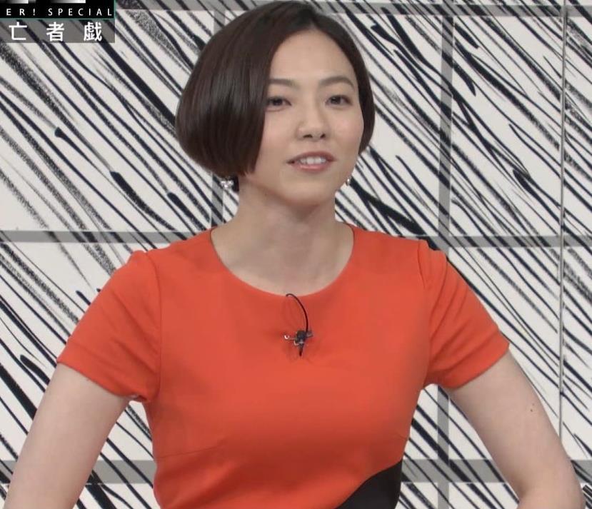 雨宮萌果アナ ショートカットがかわいいNHKの巨乳アナキャプ・エロ画像