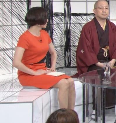 雨宮萌果アナ ショートカットがかわいいNHKの巨乳アナキャプ・エロ画像2