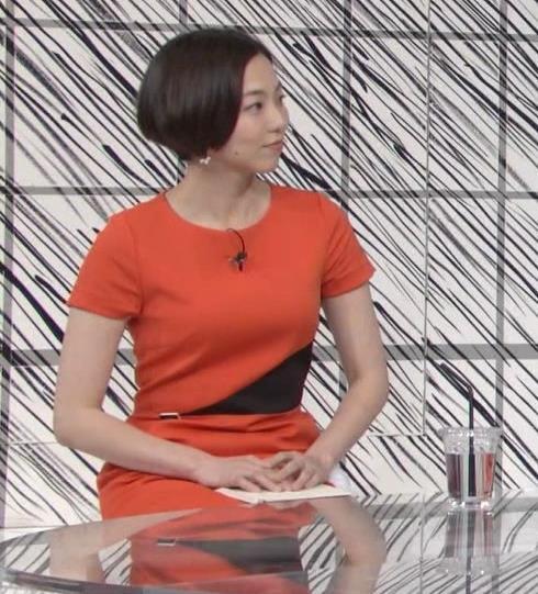 雨宮萌果アナ ショートカットがかわいいNHKの巨乳アナキャプ・エロ画像3