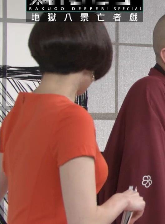 雨宮萌果アナ ショートカットがかわいいNHKの巨乳アナキャプ・エロ画像7