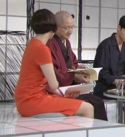 雨宮萌果アナ ショートカットがかわいいNHKの巨乳アナキャプ・エロ画像8