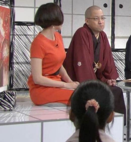 雨宮萌果 ショートカットがかわいいNHKの巨乳アナキャプ画像(エロ・アイコラ画像)