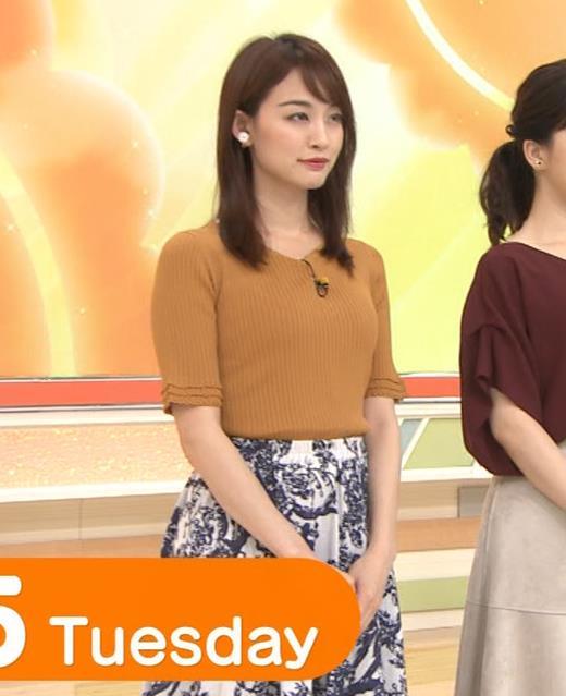 新井恵理那 ニット横乳★♥キャプ・エロ画像