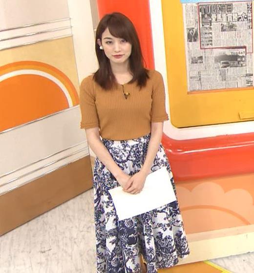 新井恵理那 ニット横乳★♥キャプ・エロ画像3