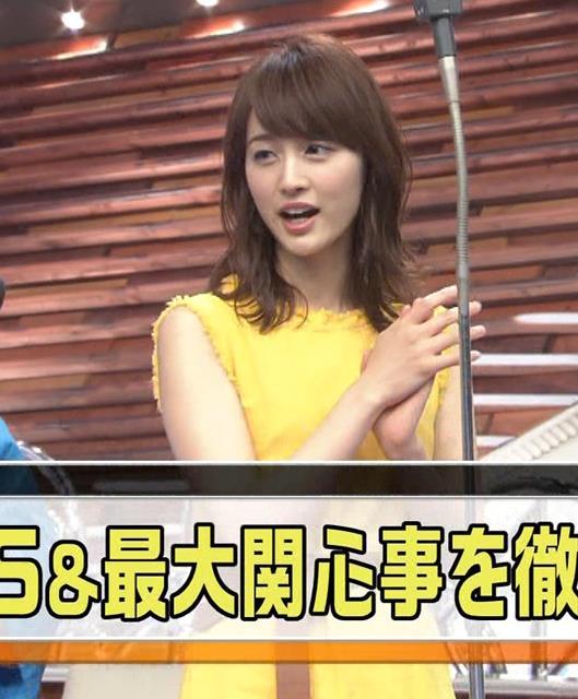 新井恵理那 ノースリーブ&顔面アップ多数キャプ・エロ画像9