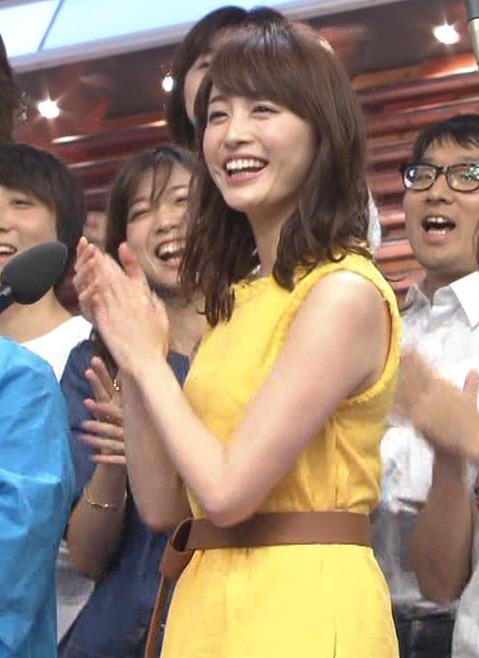 新井恵理那 ノースリーブ&顔面アップ多数キャプ・エロ画像10