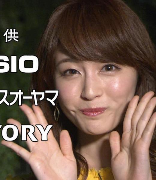 新井恵理那 ノースリーブ&顔面アップ多数キャプ画像(エロ・アイコラ画像)