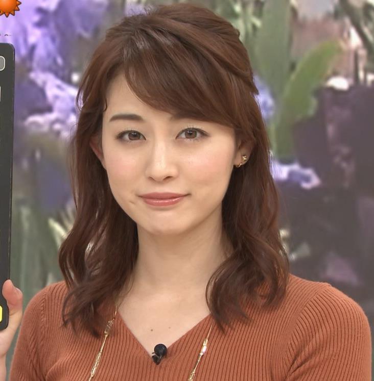 新井恵理那アナ クッキリニットおっぱいのエロいラインキャプ・エロ画像9
