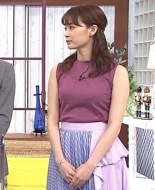 新井恵理那 エッチなノースリーブキャプ・エロ画像4