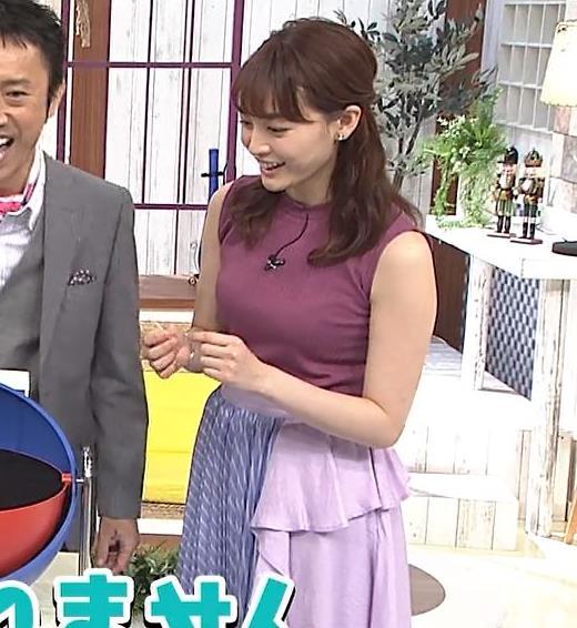 新井恵理那 エッチなノースリーブキャプ・エロ画像5