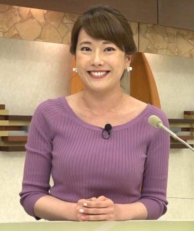 新垣泉子アナ 福岡の巨乳アナキャプ・エロ画像