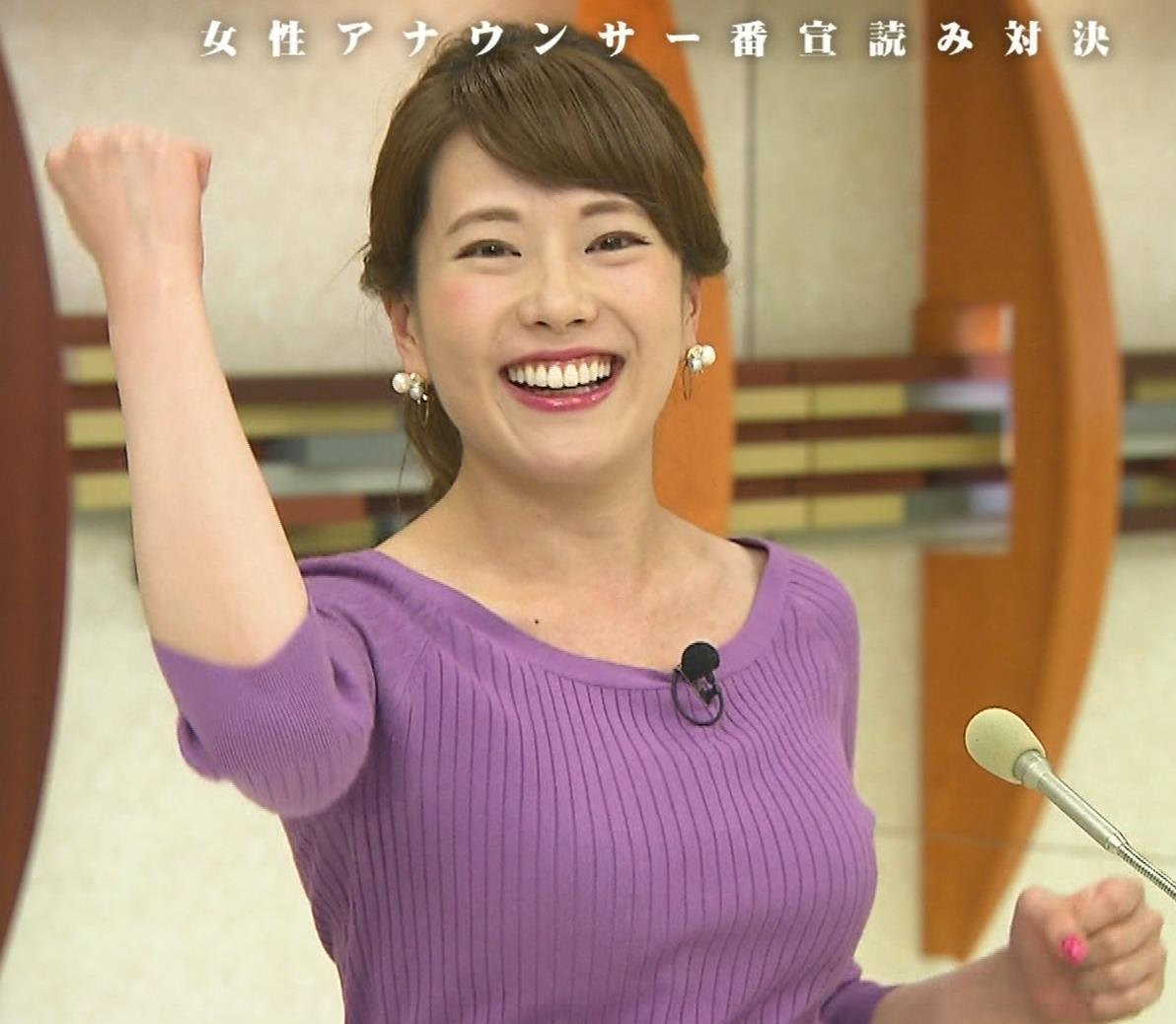 新垣泉子アナ 福岡の巨乳アナキャプ・エロ画像2
