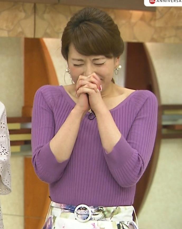 新垣泉子アナ 福岡の巨乳アナキャプ・エロ画像5