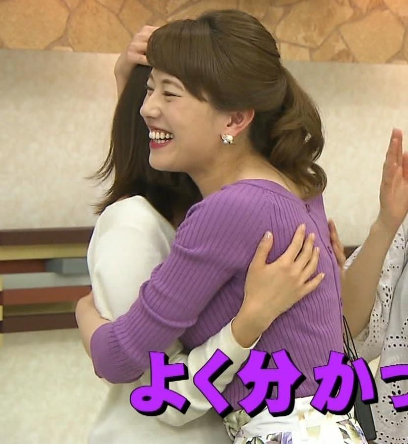 新垣泉子アナ 福岡の巨乳アナキャプ・エロ画像7