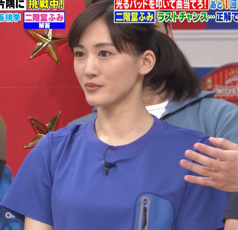 綾瀬はるか Tシャツおっぱいキャプ・エロ画像